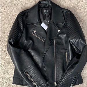 Leather (faux) jacket